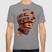 E=M.C. Escher Mens Fitted Tee Tri-Grey SMALL