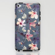 Butterflies And Hibiscus… iPhone & iPod Skin