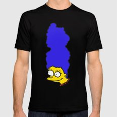Misshapen Marge Mens Fitted Tee Black SMALL