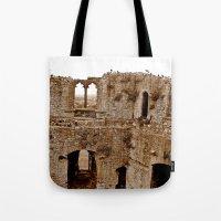 Castle Walls Tote Bag