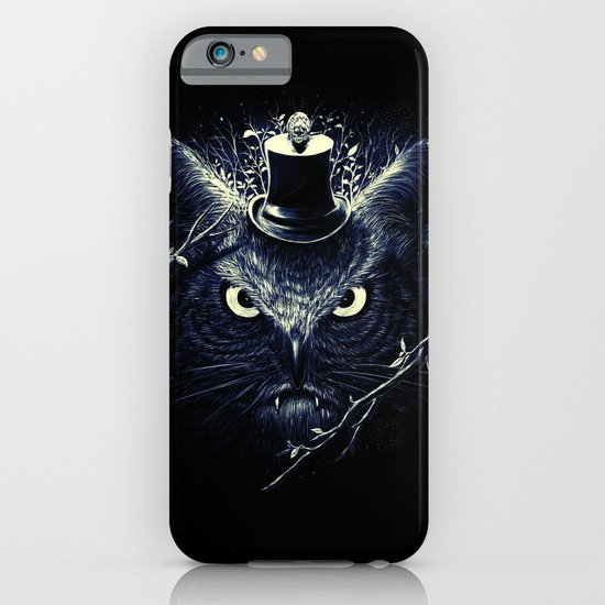 Meowl (Blue) iPhone & iPod Case