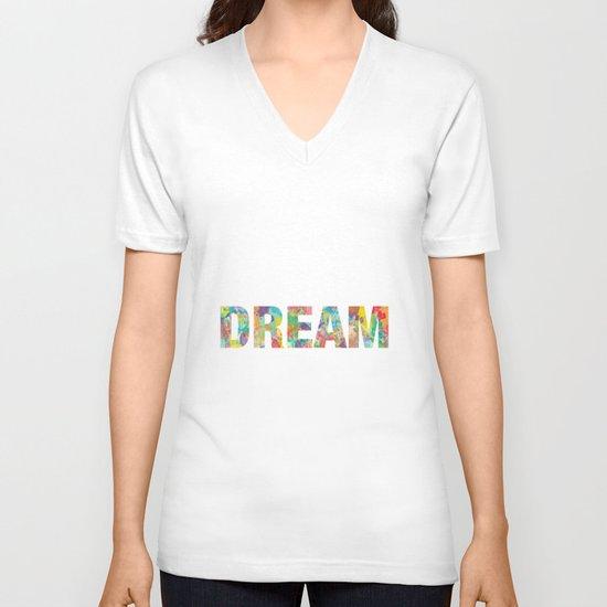 DREAM V-neck T-shirt