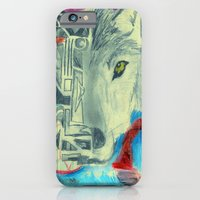 iPhone & iPod Case featuring Desert Wolf by Drew Doherty