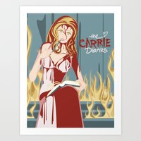 The Carrie Diaries Art Print