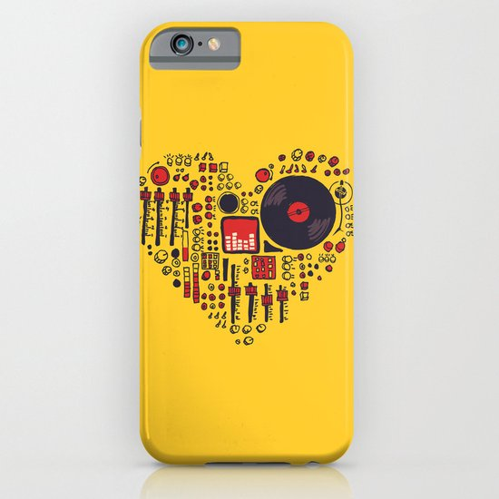Music in every heartbeat iPhone & iPod Case