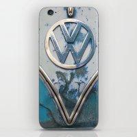 Blue Rusty VW iPhone & iPod Skin
