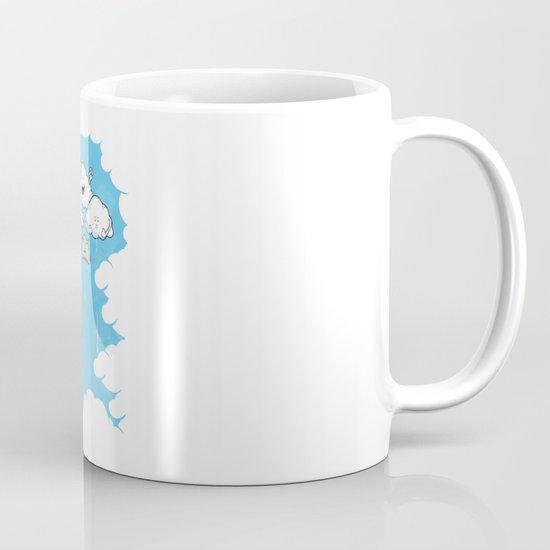 Young Clouds fooling around Mug