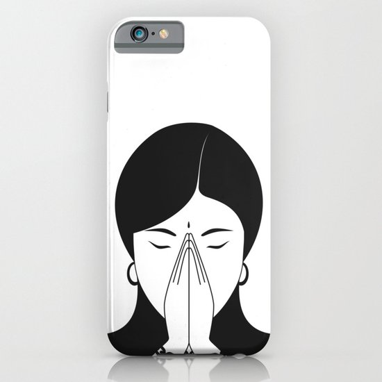 Modern woman iPhone & iPod Case