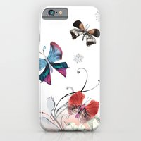 iPhone & iPod Case featuring Butterfly Spring by Million Dollar Design