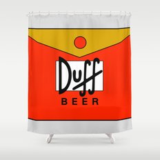 Duff Beer! Shower Curtain