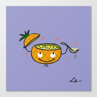 Pineapple Curry Canvas Print