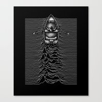 Unknown Waters Canvas Print