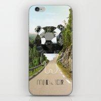 Mind the Bear! iPhone & iPod Skin