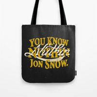 Nuthin Tote Bag