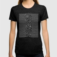 Division Time Womens Fitted Tee Tri-Black SMALL