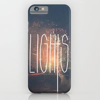 iPhone & iPod Case featuring SKY LIGHTS by Valerie Bee