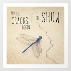 Dragonfly Inspiration Art Print