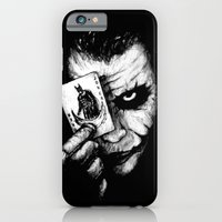 iPhone Cases featuring Joker by NickHarriganArtwork