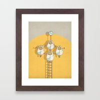 circus 002 Framed Art Print