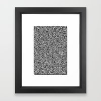 Superhuman Creatures Framed Art Print