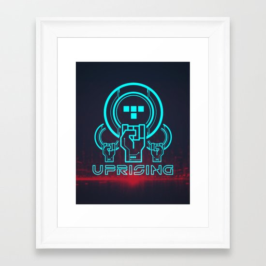 Uprising  Framed Art Print