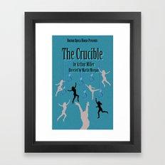 Crucible Framed Art Print