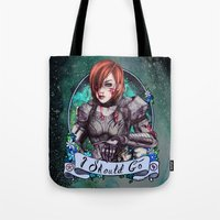 I Should Go (color) Tote Bag