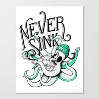 Never Sink Canvas Print