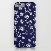 Indigo Floral Trail iPhone 6 Slim Case