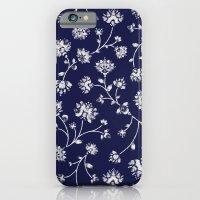 Indigo Floral Trail iPhone 6 Slim Case
