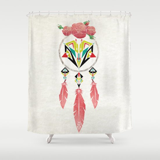 dream flowers Shower Curtain