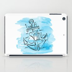 Live A Salty Life - Blue iPad Case