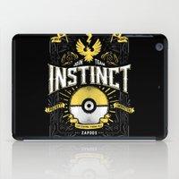 An Instinctual Decision iPad Case