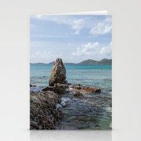 Caribbean Beach Photogra… Stationery Cards