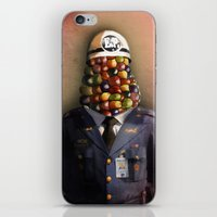 CHAPA CHOCLO (policemen) iPhone & iPod Skin