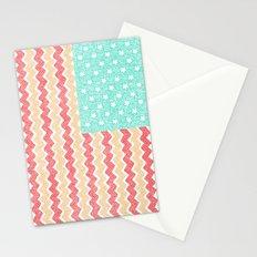Zig Zag Flag. Stationery Cards