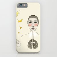 iPhone & iPod Case featuring kara akciğer by Amylin Loglisci