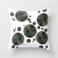 One Of A Feather. Throw Pillow