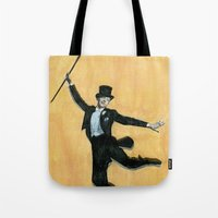 top hat and tails Tote Bag