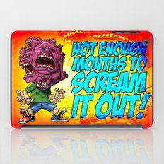 Not Enough Mouths To Scream It Out iPad Case