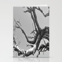 Driftwood Ladder B/W Stationery Cards