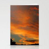 Flame Sky 2010 Stationery Cards