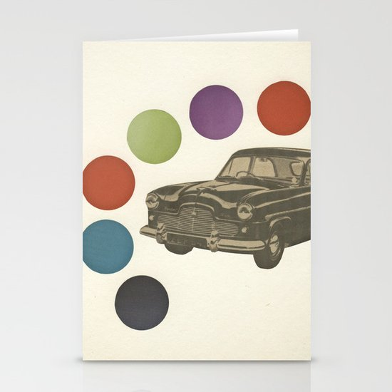 Driving Around in Circles Stationery Card