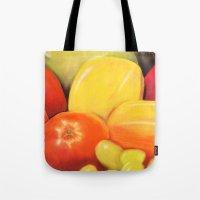 Fruit - Pastel Illustrat… Tote Bag