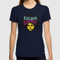 Eivissa experience Womens Fitted Tee Navy SMALL