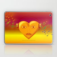FOR THE LOVE OF MUSIC 03… Laptop & iPad Skin