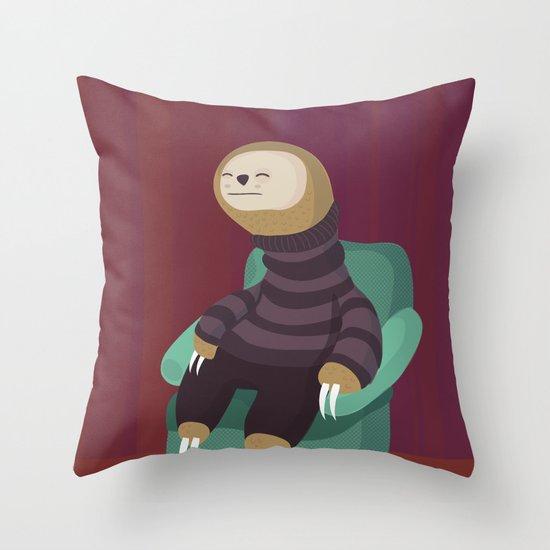7 deadly sins Sloth Throw Pillow