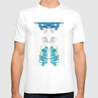 Botanic Body Mens Fitted Tee White SMALL