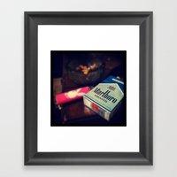 Marborol Smooths Framed Art Print