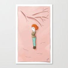 Pink Autumn Canvas Print